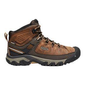 7798980dd94b Keen Men s Targhee III Mid Waterproof Hiking Boots - Big Ben Golden Brown