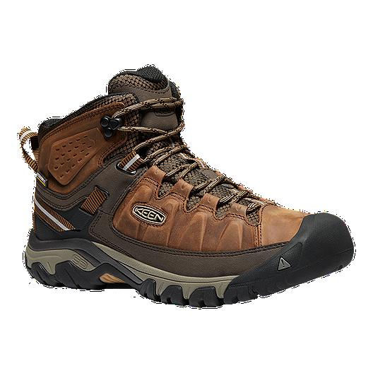 2276a653af8 Keen Men's Targhee III Mid Waterproof Hiking Boots - Big Ben/Golden Brown