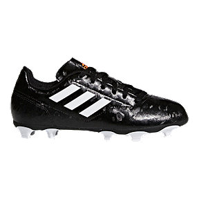 adidas Kids' Conquisto II FG Outdoor Soccer Cleats - Black
