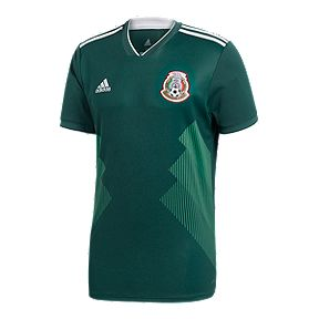 8964b0141 adidas Men s Mexico 2018 Home Replica Soccer Jersey