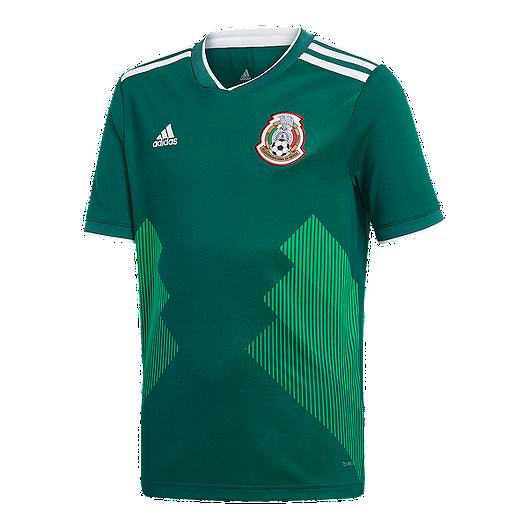 9bd0f8dc9e7 adidas Mexico Kids  2018 Home Replica Soccer Jersey