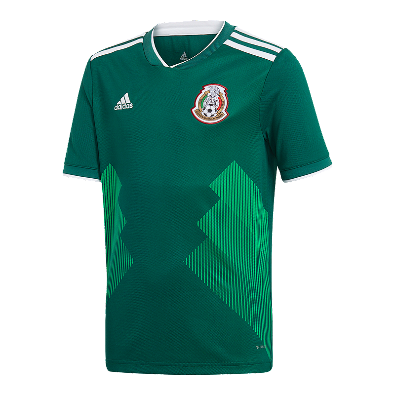 19648bd99bd8 adidas Mexico Kids  2018 Home Replica Soccer Jersey