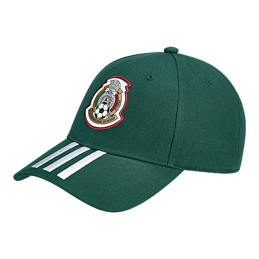 996beb98ea0 adidas Men s Mexico 3 Stripe Hat