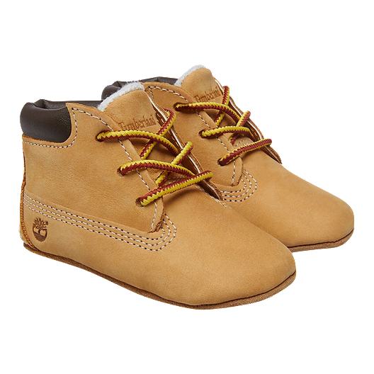 af093645c26 Timberland Baby Crib Bootie Pack Shoes & Hat - Wheat