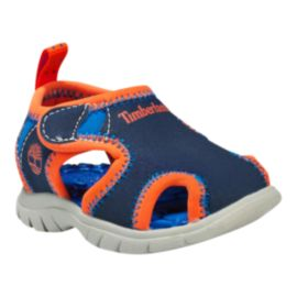 Timberland Toddler Boys' Little Harbor Closed-Toe Sandals - Blue/Orange