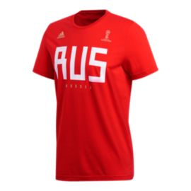 adidas Men's Russia Fan T Shirt