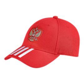 8ef454826e1 adidas Men s Russia 3 Stripe Hat