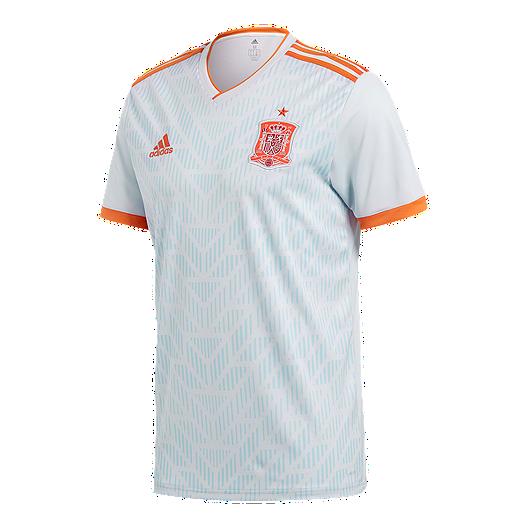 54016137cc1 adidas Men s Spain 2018 Away Replica Soccer Jersey