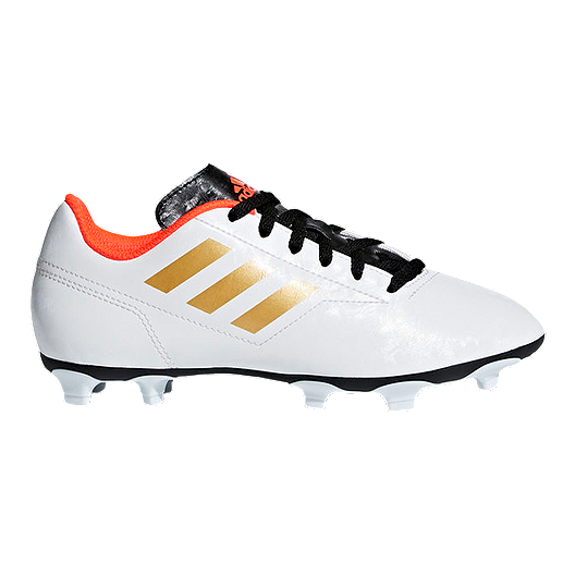 sports shoes bd951 f3db8 adidas Kids Conquisto II FG Outdoor Soccer Cleats - WhiteGold  Sport Chek
