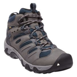 Keen Men's Koven Mid Hiking Boots - Gargoyle/Navy