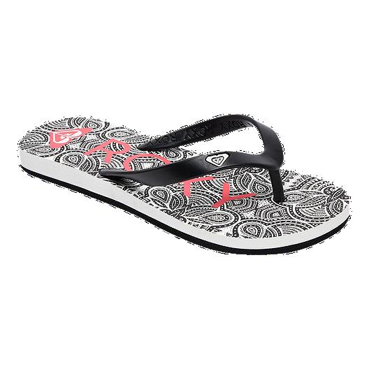 2fb682e9acef Roxy Girls  Tahiti VI Flip Flop Sandals - Black