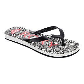 befc2f0d8d85 Roxy Girls  Tahiti VI Flip Flop Sandals - Black