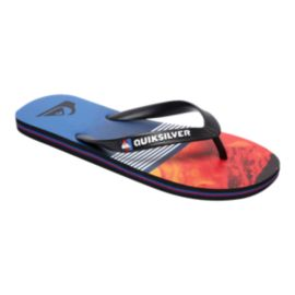 Quiksilver Kids' Molokai Lava Sandals - Red/Blue