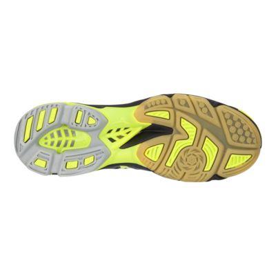 mizuno women's wave lightning z5 indoor court shoe yellow