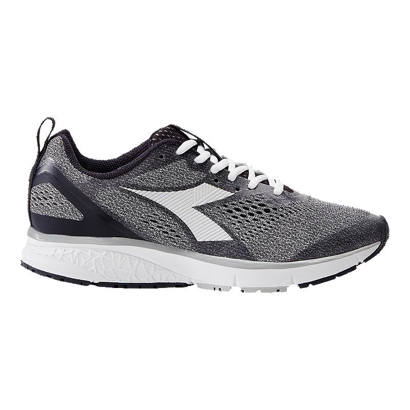 7e6b0188 Diadora Women's Kuruka 2 Running Shoes - Grey/Violet/Black