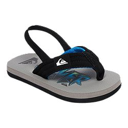 6fa2a741f25e84 image of Quiksilver Toddler Molokai Layback Sandals - Black Grey Blue with  sku