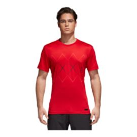 adidas Men's Tennis Barricade T Shirt - Red