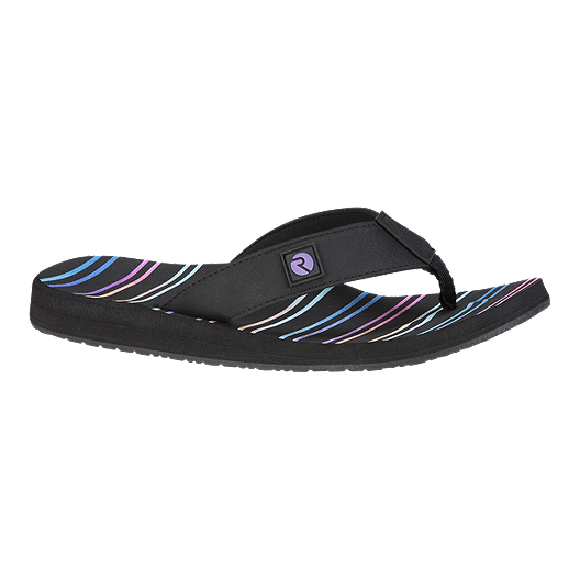 10ad77d96b3c Ripzone Women s Betty 1 Striped Sandals - Black