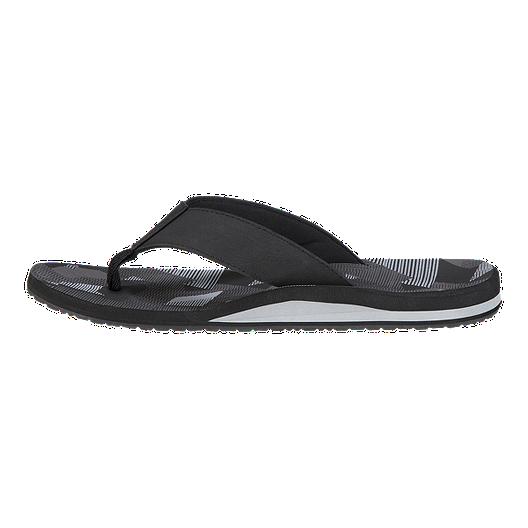 03ff1355 Ripzone Men's Boardwalk 1 Sandals - Black/Grey