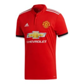 adidas Manchester United Home Replica Soccer Jersey
