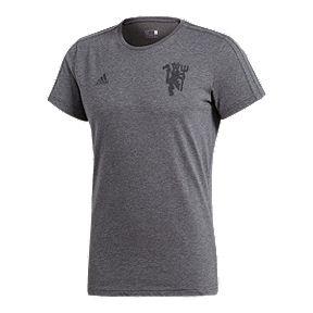 b184f790b00 Manchester United adidas Grey Tee