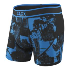 SAXX Men's Kinetic Boxer Briefs - Palm Sketch