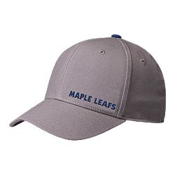 8e819949712 image of Toronto Maple Leafs adidas Men s Grey Structured Flex Hat with  sku 332471627