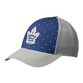 d55017057135 Toronto Maple Leafs adidas Women s Trucker Hat
