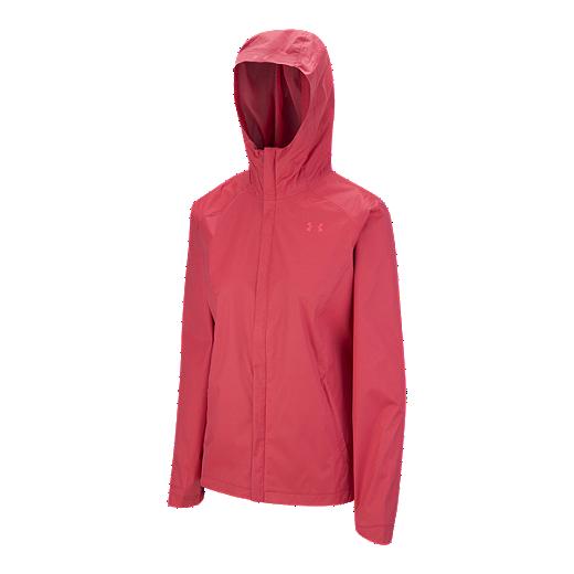 272adfe5 Under Armour Women's Overlook 2L Shell Jacket -  HOLLYWOOD/PINKSHOCK/PINKSHOCK