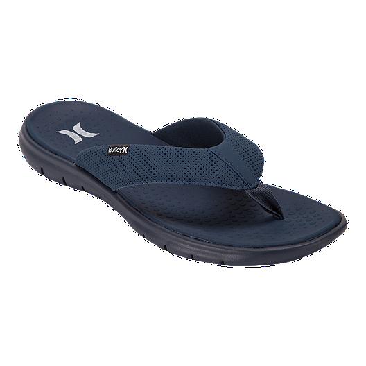 4e5523542 Hurley Men's Flex 2.0 Slide Sandals - Squadron Blue | Sport Chek