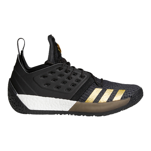 36c873e8cac adidas Men s Harden Vol 2 Basketball Shoes - Black Gold