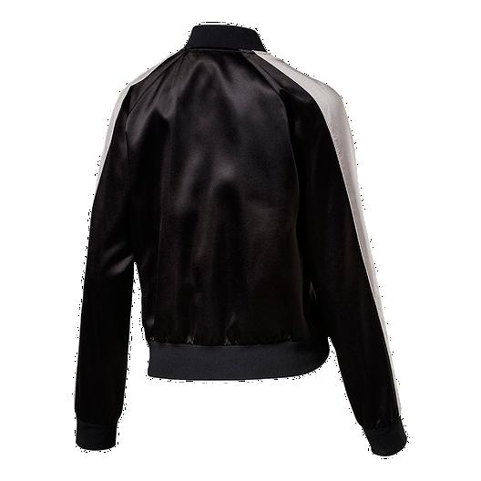 007d783f2e77 PUMA Women s En Pointe Satin T7 Jacket - Black