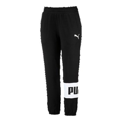 d737a129de3 Puma Women's Urban Sports Sweat Pants - COTTON BLACK