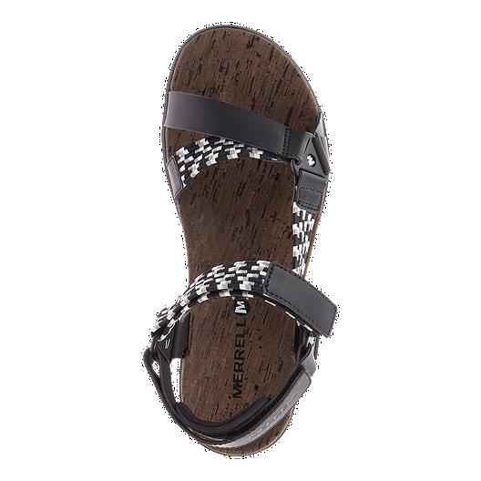 064b5a30c1080 Merrell Women s Around Town Sunvue Woven Sandals - Black. (1). View  Description