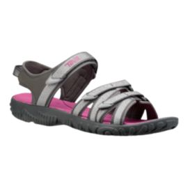 Teva Girls' Tirra Sandals - Grey/Pink