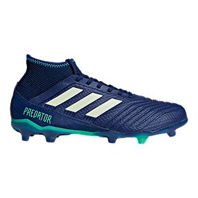 9934205a3b2a adidas Men's Predator 18.3 FG Outdoor Soccer Cleats - Ink/Aero