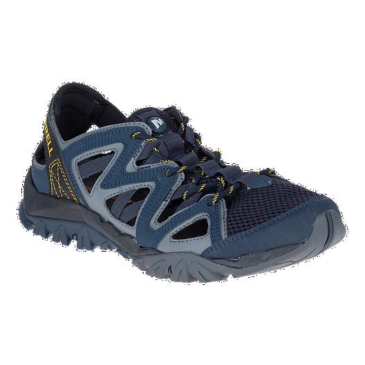 3a2c112c71d1 Merrell Men s Tetrex Crest Wrap Sandals - Navy