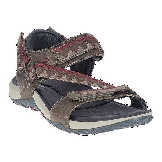 4d572378c4bb Merrell Men s Terrant Convertible Sandals - Brindle