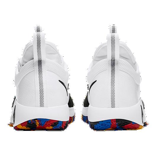promo code d8559 8a89c Nike Men's PG 2 Basketball Shoes - White/Multi   Sport Chek