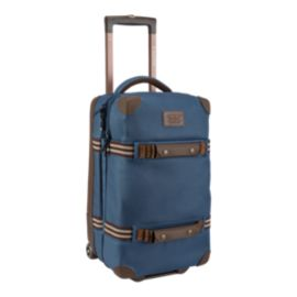 Burton Wheelie Flight Deck 40L Wheeled Luggage - Mood Indigo Coated