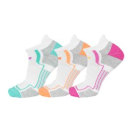New Balance Women's Performance No Show Tab Socks - 3-Pack
