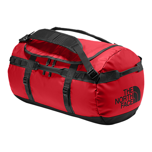 6a4549132 The North Face Base Camp 50L Small Duffel Bag - TNF Red/TNF Black