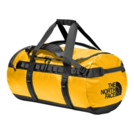 The North Face Base Camp 70L Medium Duffel Bag - Summit Gold/TNF Black