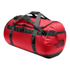 The North Face Base Camp 95L Large Duffel Bag - TNF Red/TNF Black