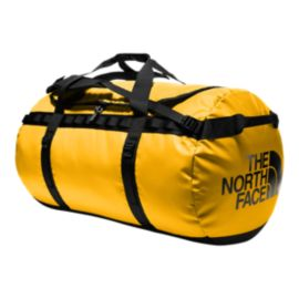 The North Face Base Camp 135L X-Large Duffel Bag - Summit Gold/TNF Black