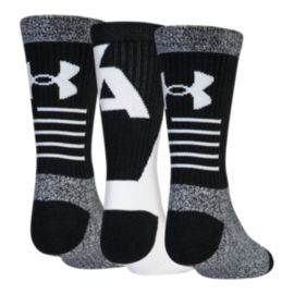Under Armour Kids' Phenom 3.0 Crew Socks - 3 Pack