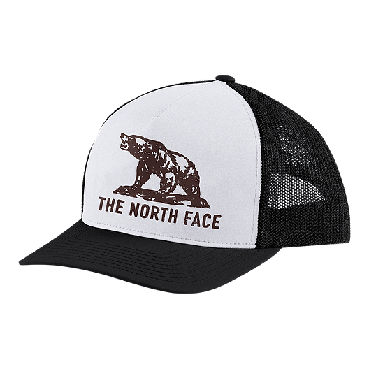 1a6d3ffedfa The North Face Men s Keep It Structured Trucker Hat - Black White ...