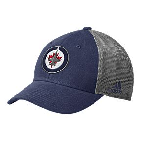 61e2e8813a5 Winnipeg Jets adidas Men s Mesh Back Structured Hat