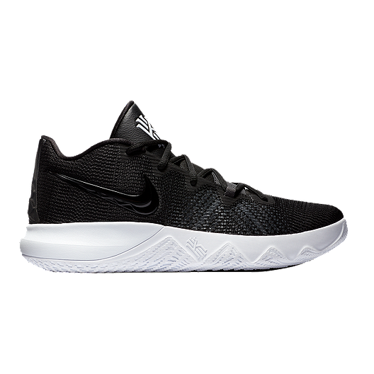 Nike Men s Kyrie Flytrap Basketball Shoes - Black White  67c7fd3fc9a2