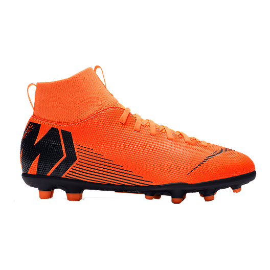 759f4410f75 Nike Kids  Mercurial SuperFly 6 Club FG Outdoor Soccer Cleats - Orange